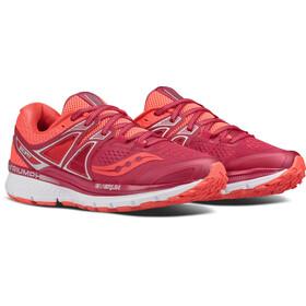 saucony Triumph ISO 3 - Zapatillas para correr Mujer - rojo